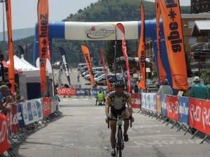 Marmotte finish line